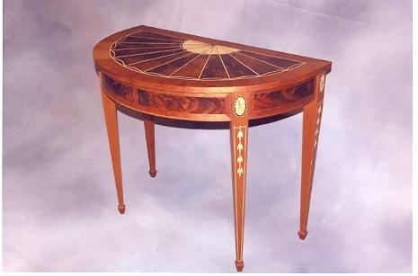 Nice Demilune  48K. A Demilune Table